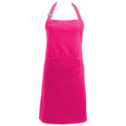"""15af2589a94f DII Cotton Adjustable Kitchen Chef Apron with Pocket and Extra Long Ties,  32 x 28"""""""
