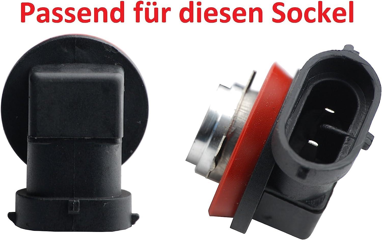 L P Car Design L P B546 2 Stück H8 H11 Canbus Plug Play Lastwiderstand Widerstand Für Led Smd Lampen Ohne Fehlermeldung Auto