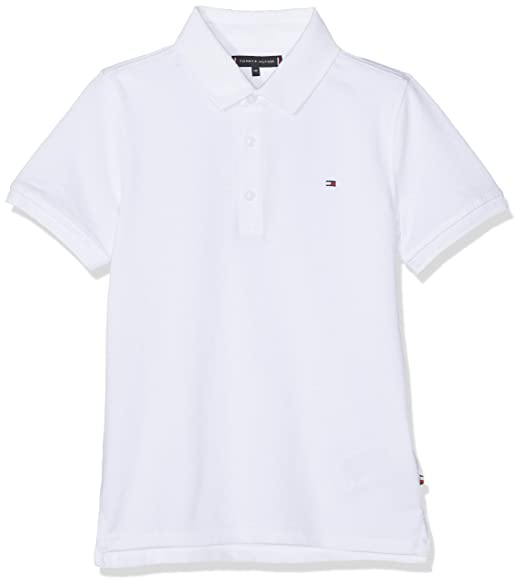 Tommy Hilfiger Essential Hilfiger Slim Fit Polo Niños: Amazon.es ...