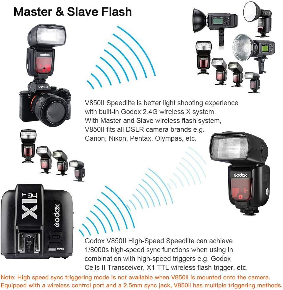 Godox V850ii Camera Flash Unit With X1t C Trigger 2 4g Camera Photo
