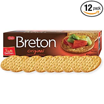 Amazon dare breton crackers original party snacks with no dare breton crackers original party snacks with no artificial flavors and 0g of trans solutioingenieria Choice Image
