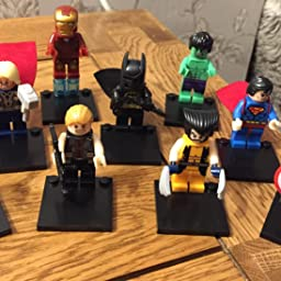 9 PCS DC Marvel Fit LEGO Avengers Super Heroes Mini Figures Hawkeye Thor Hulk UK