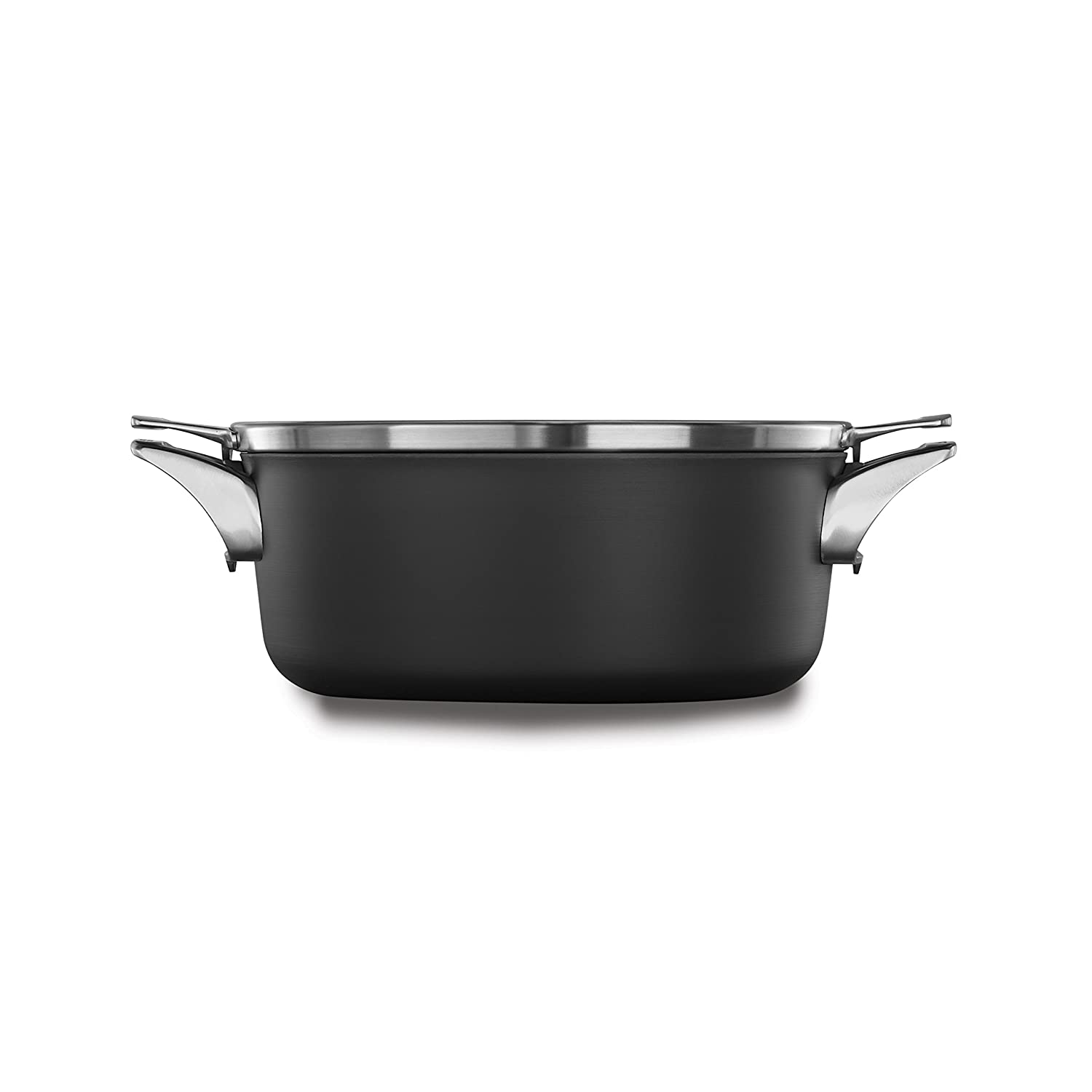 Calphalon Premier Space Saving Nonstick 5qt Dutch Oven with Cover