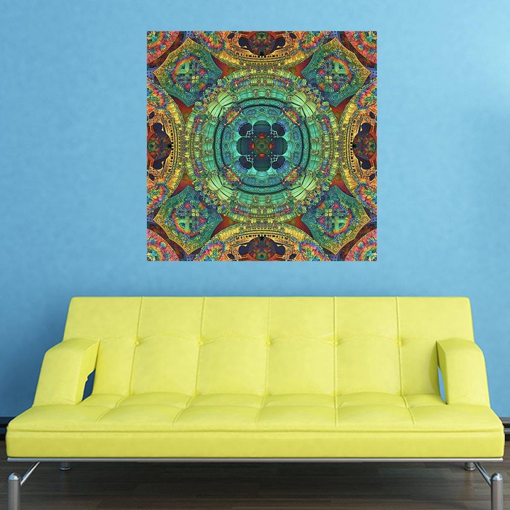 Amazon.com: My Wonderful Walls Color and Symmetry Kaleidoscope Wall ...