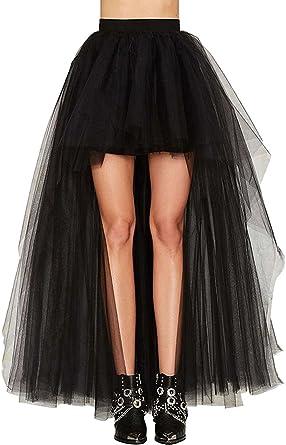 Falda de estilo Steampunk gótico, de Coswe, para mujeres, con ...