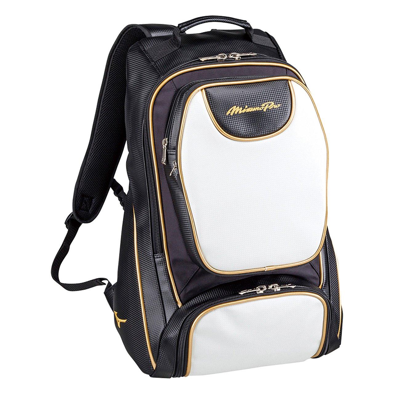 ミズノ(MIZUNO) ミズノプロ バックパック 1FJD6000 B000E5LCV2 ブラック×ホワイト(90) ブラック×ホワイト(90)