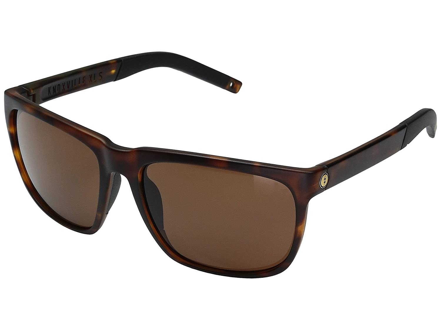Electric Knoxville XL S Sunglasses Matte Tortoise with Ohm Bronze Lens