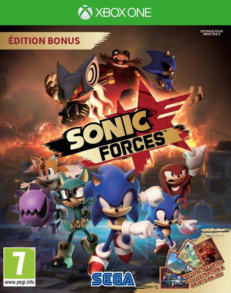Sonic Forces - Xbox One | Sonic Team. Programmeur