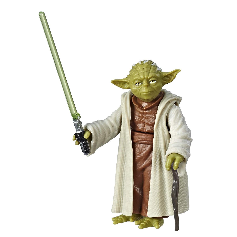 Star Wars Galaxy of Adventures Yoda Figure /& Mini Comic Hasbro E5707