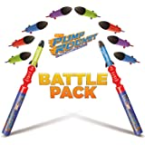 Geospace Pump Rocket Mini Battle Pack (includes 2 Launchers + 10 Rockets Total)