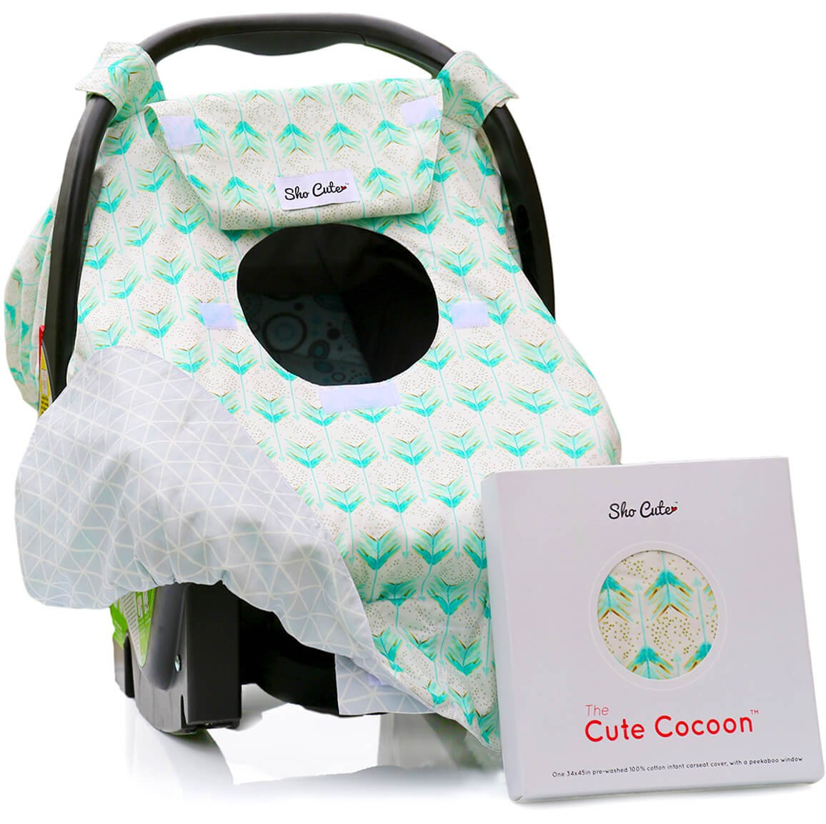 Mint Green Baby Car Seat