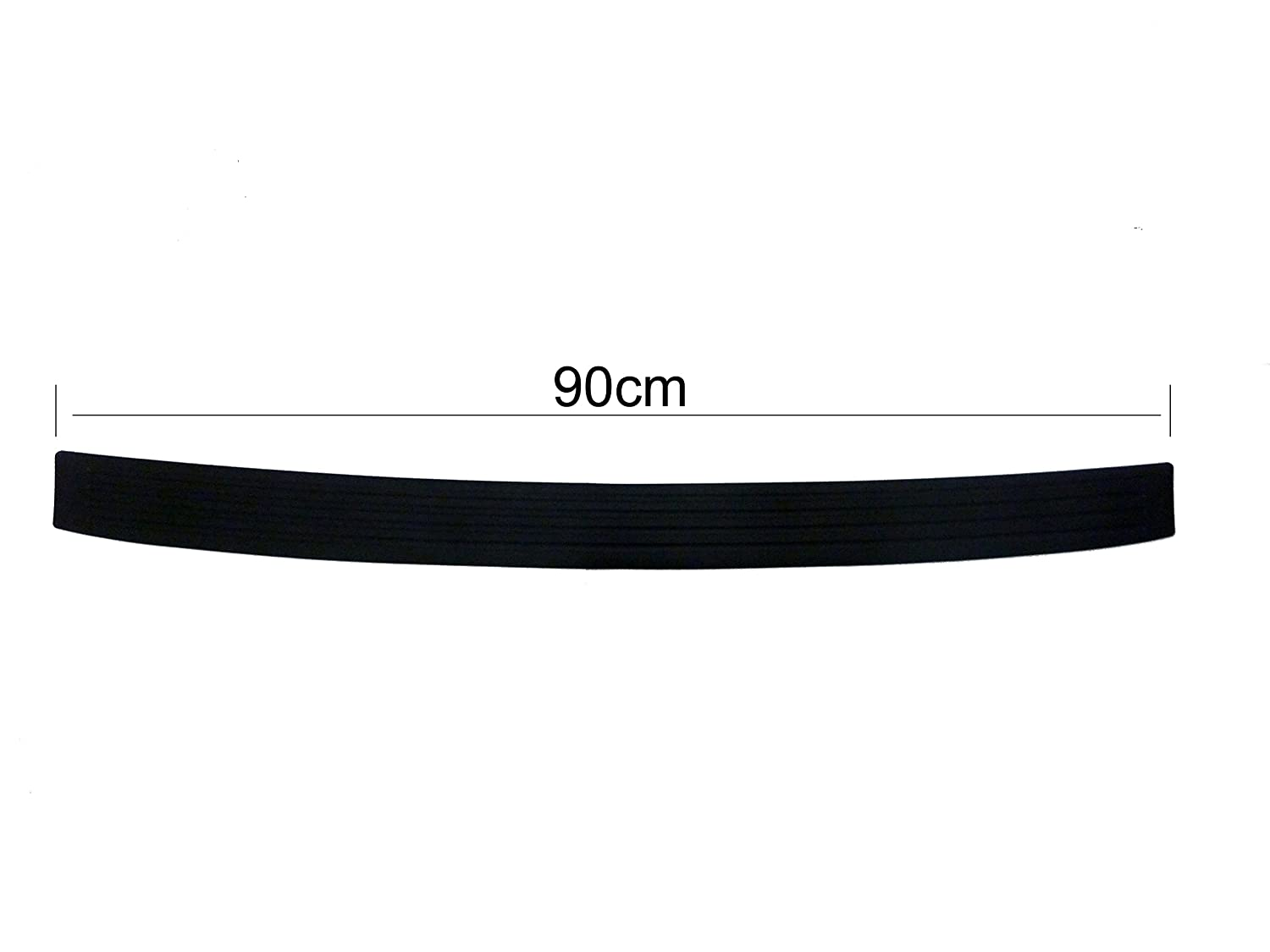 Connected Essentials 5117720 Rubber Car Bumper Protective Strip for Estates and SUV 104cm Long