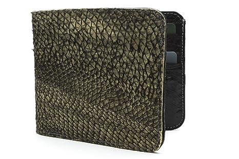 Big Eye Leather REAL Walleye Fish Leather Wallet  d6a2b6cc0971