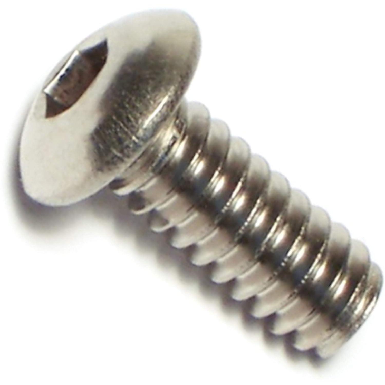 Hard-to-Find Fastener 014973178314 Button Head Socket Cap Screws Piece-20 10-24 x 1//2