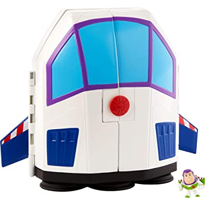 Disney Pixar Toy Story 4 Minis Buzz Lightyear's Star Adventurer Playset: Toys & Games