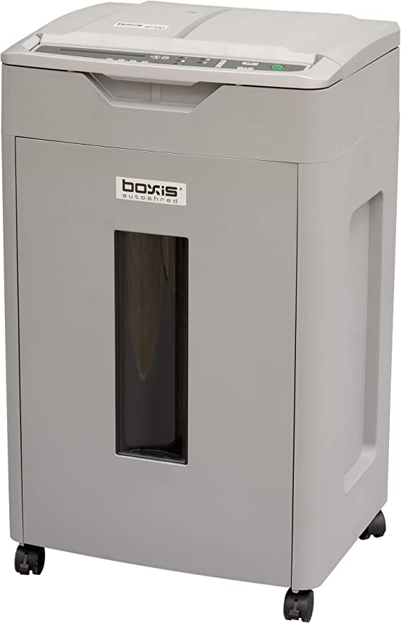 Boxis AutoShred 700-Sheet Auto Feed Microcut Paper Shredder - Heavy Load