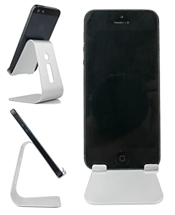Amazon.com: DURAGADGET Portable Metal Smartphone Desk Stand ...