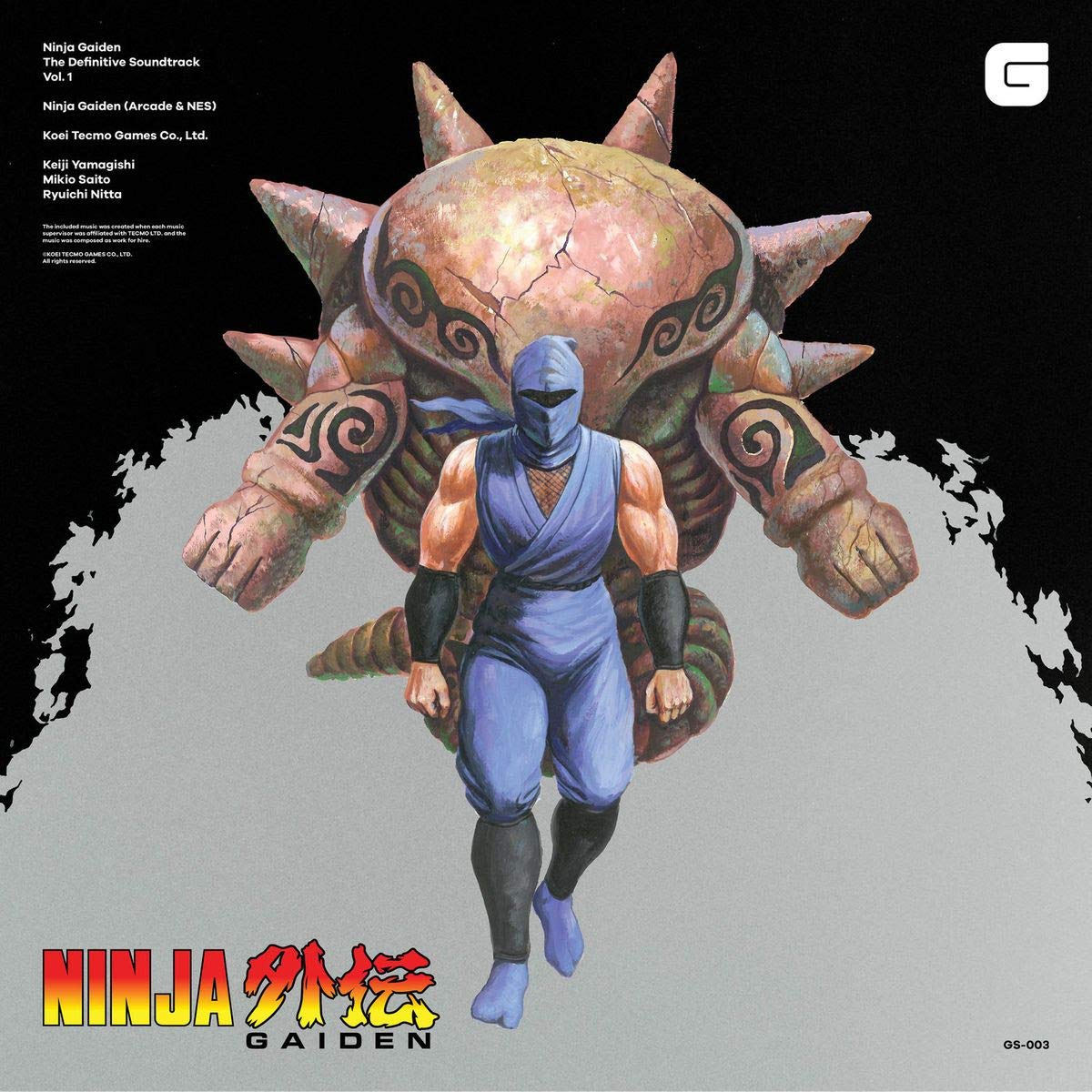 Ninja Gaiden - The Definitive Soundtrack - Vol. 1 : Keiji ...