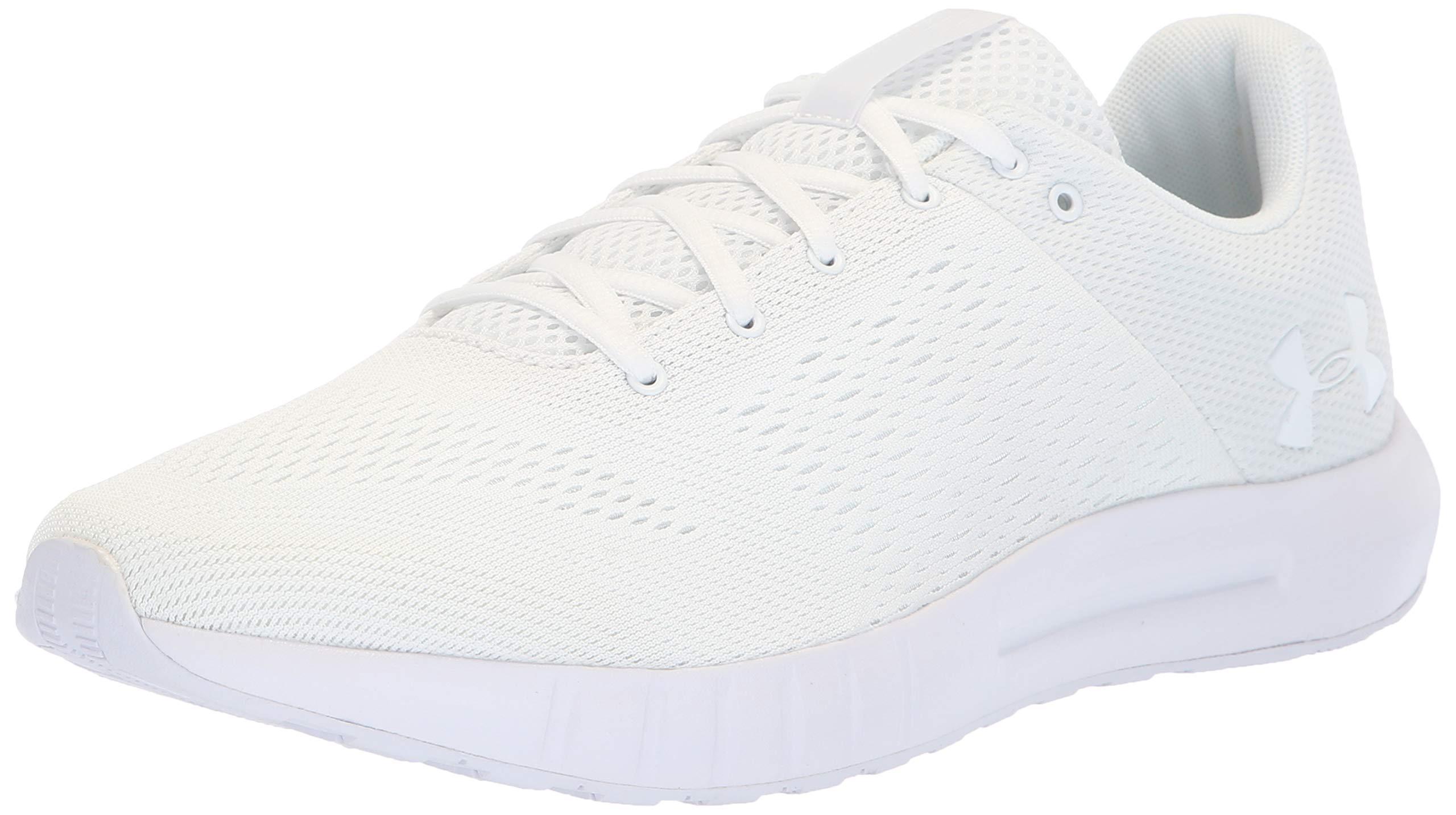 Under Armour Men's Micro G Pursuit Running Shoe, White (113), 9.5