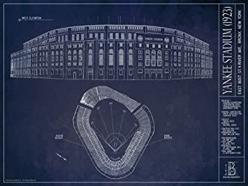 List of synonyms and antonyms of the word new yankee stadium blueprint rare blueprints show how an iconic baseball stadium evolved malvernweather Image collections