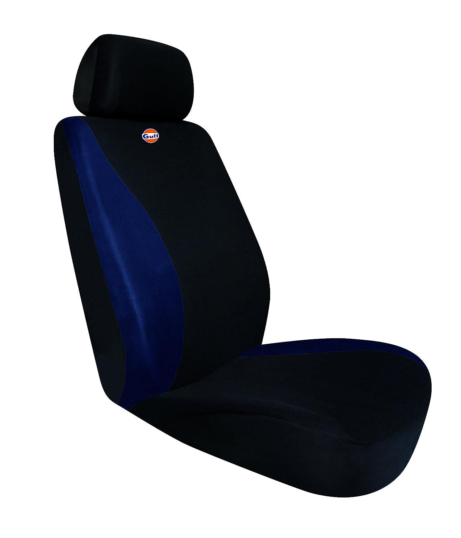 Gulf 76120 Black//Blue 76120 Blue Universal Premium Auto-sitzbezug Farbe Schwarz mit blau