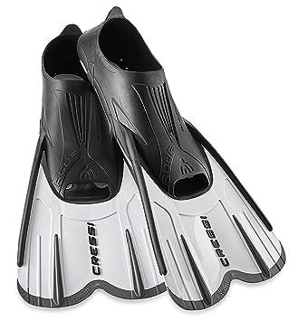 Cressi Agua Short Aletas de Snorkeling, Unisex Adulto: Amazon.es