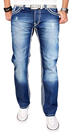 A. Salvarini AS011 - Pantalones vaqueros para hombre ...