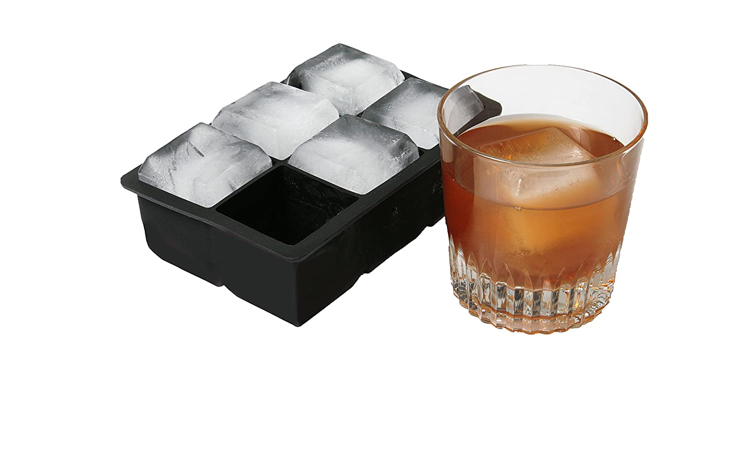 Amazon.com: Vino Ninja VN_IM_04 Ice Cube Tray 6