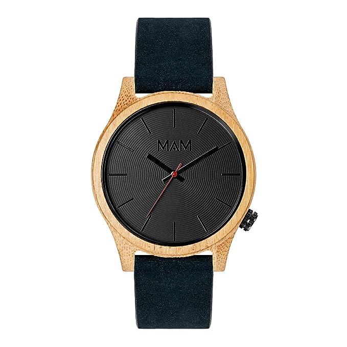 Reloj de Madera sostenible