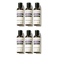 Pharmacopia Argan Body Wash – Moisturizing Shower Gel with Natural & Organic Ingredients – Vegan Bodywash for Men & Women, 2 oz, Pack of 6