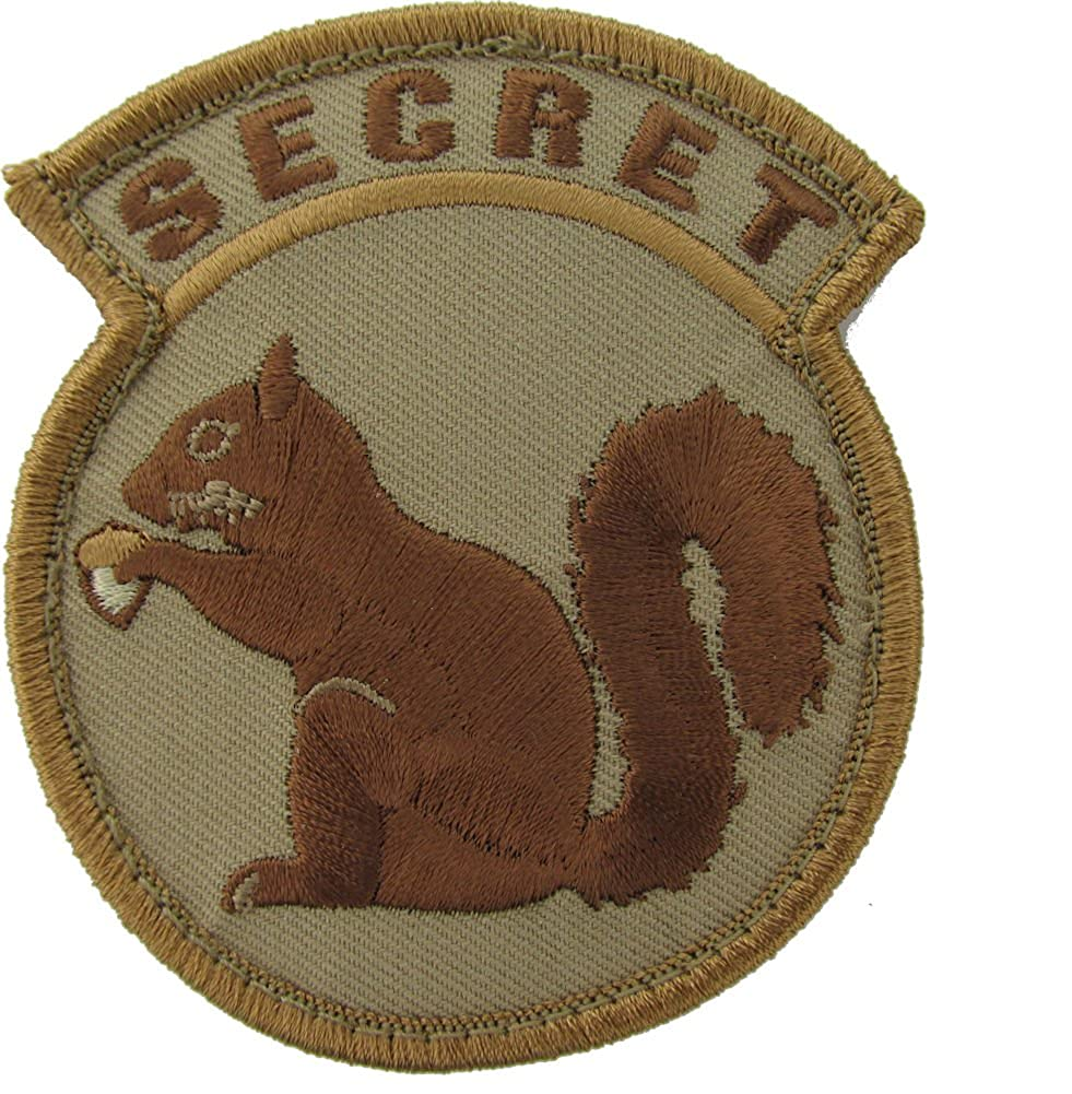 Mil-Spec Monkey Secret Squirrel Patch (Desert