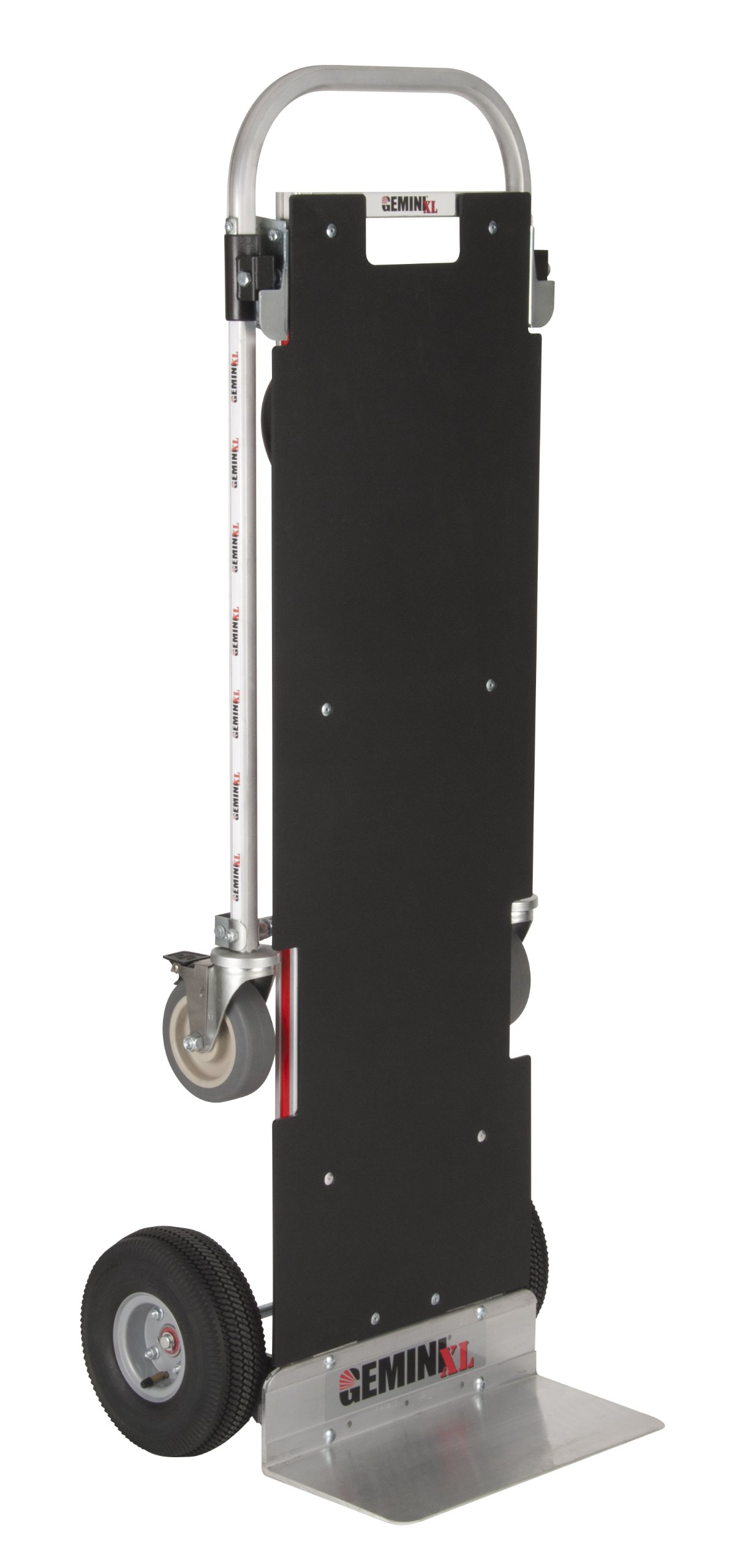 Magline XLSP Gemini XL Convertible Hand Truck, Pneumatic Wheels, 500 lbs Load Capacity, 62-3/4'' Height, 57-1/4'' Length x 22-3/4'' Width