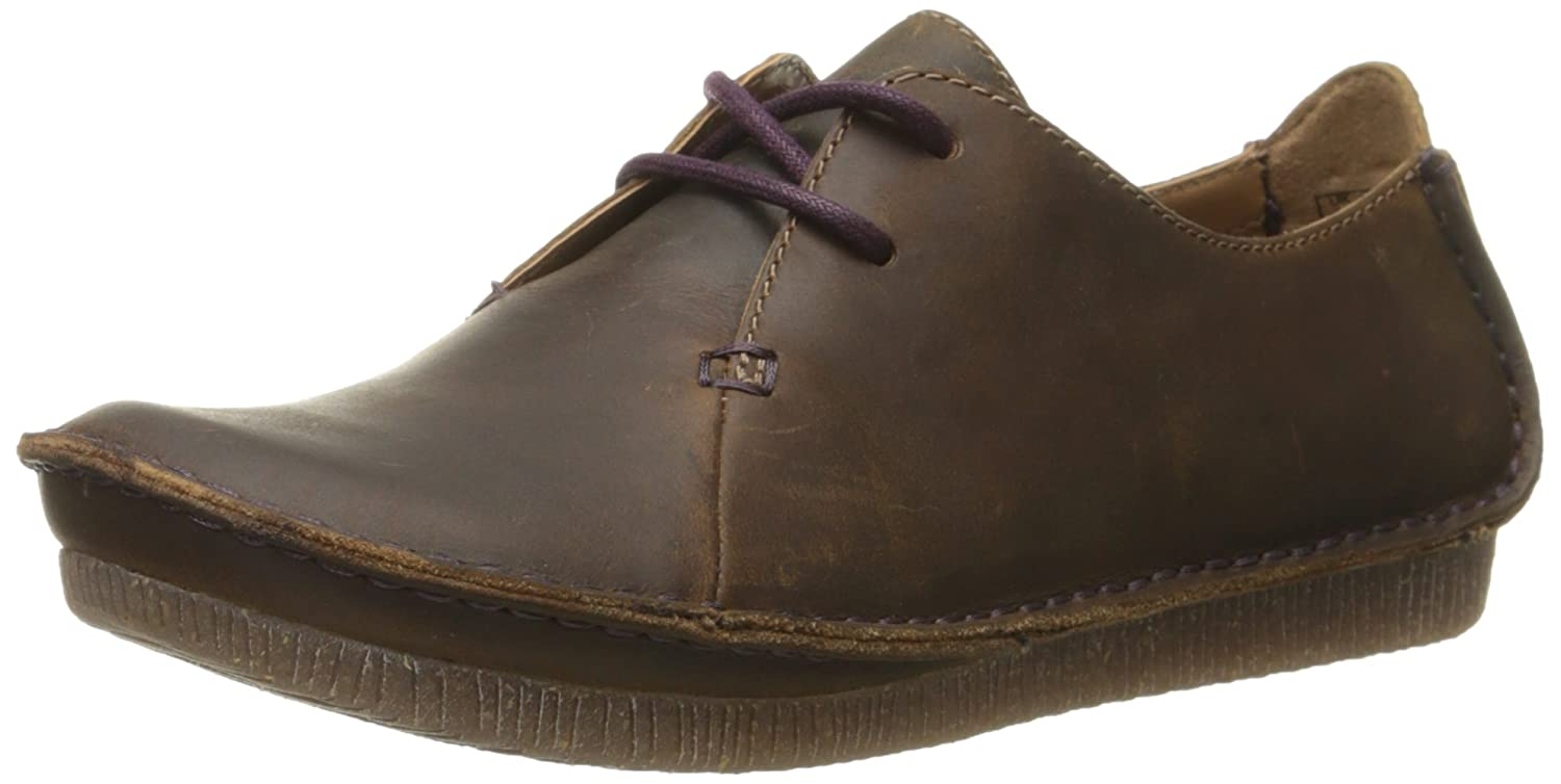 Beeswax Leather Clarks Women's Janey Mae Oxford