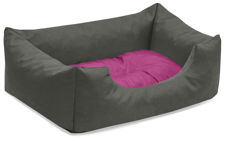 BedDog colchón para Perro Mimi S hasta XXXL, 26 Colores, Cama para Perro, sofá para Perro, Cesta para Perro, S Gris/Pink: Amazon.es: Productos para mascotas