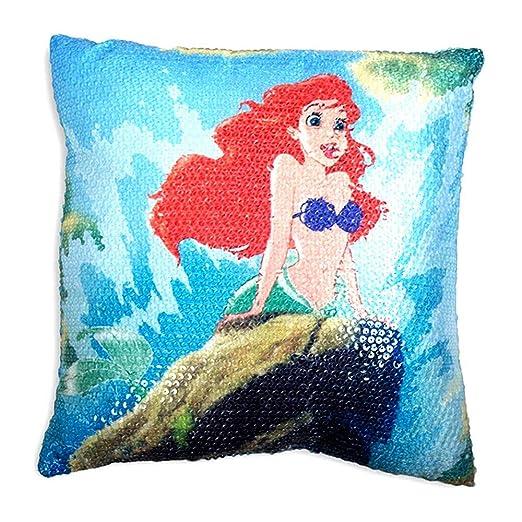 Disney Princess Ariel - Cojín Infantil Shellfie de La ...