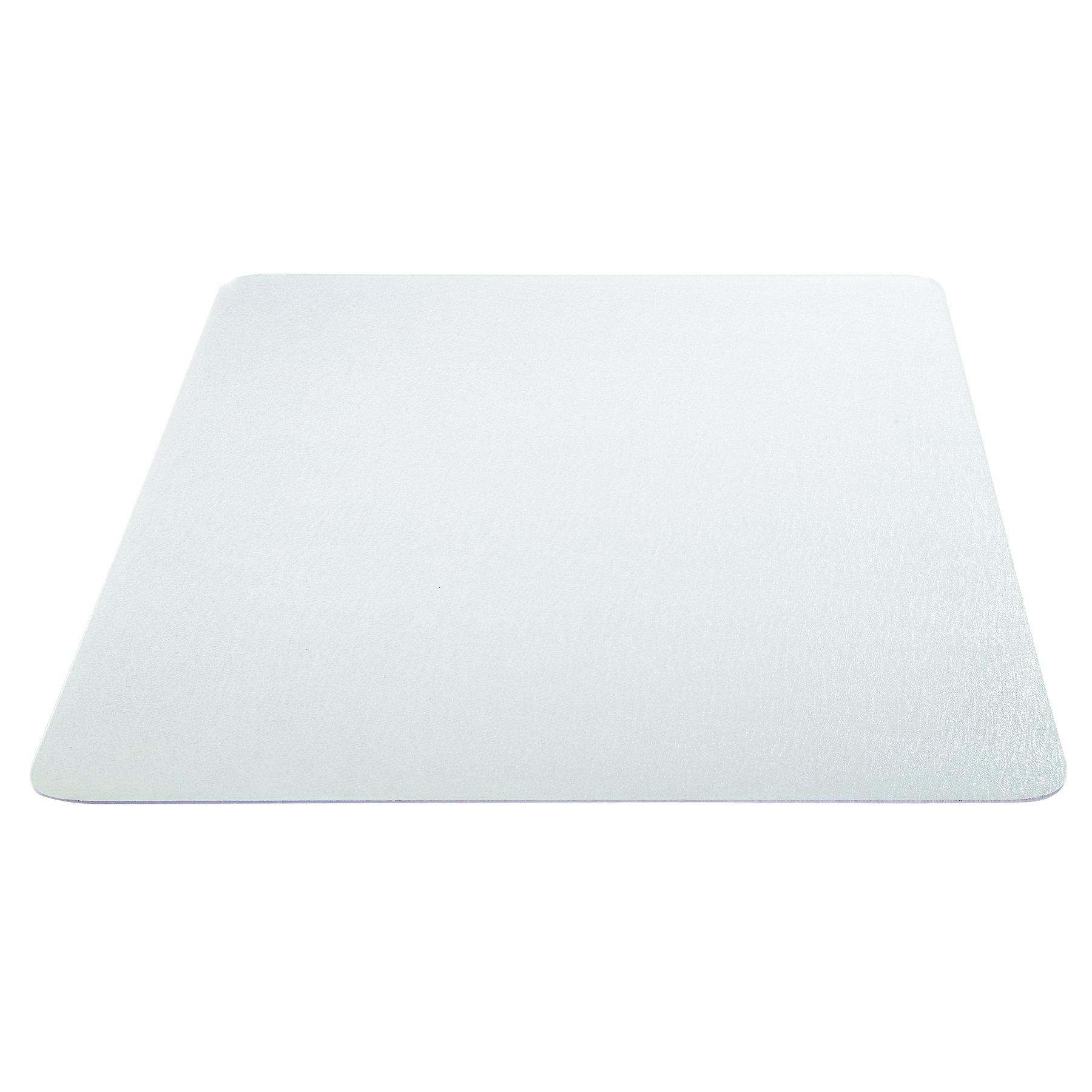Deflecto Clear Chair Mat, Carpet and Hard Floor Use, Straight Edge, 46'' x 60'', Clear (CM23442FDUOCOM)