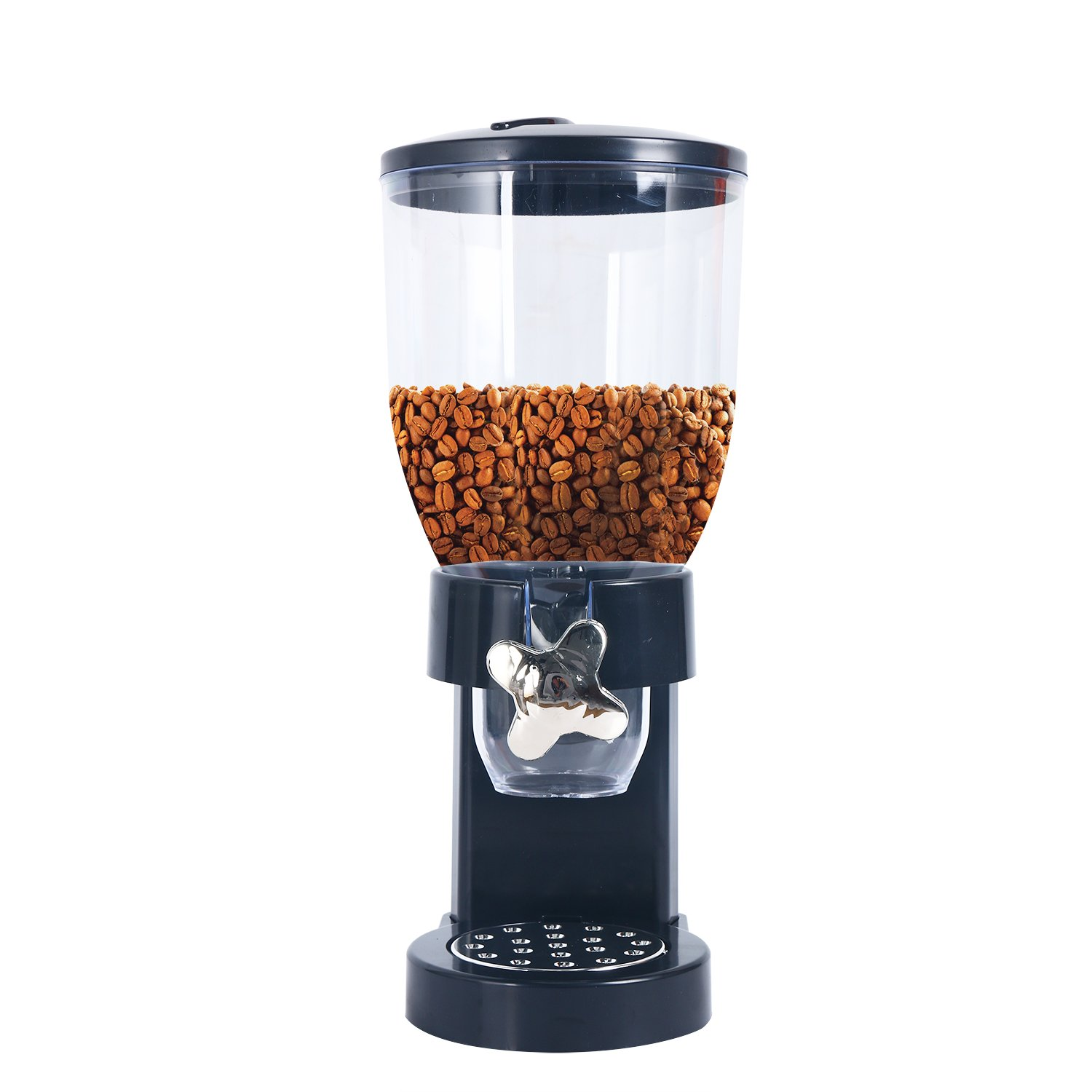 YaeKoo Indispensable Dry Food Dispenser, Dual Control Dispenser