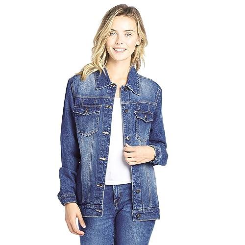 Acid Wash Jacket Amazon Com