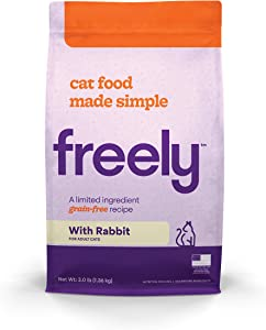 Freely Limited Ingredient Diet, Natural Cat Food Grain Free Dry Cat Food