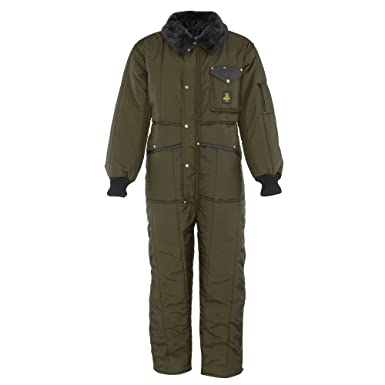 RefrigiWear Men s Iron-Tuff Insulated Coveralls -50 Extreme Cold Suit (Sage  Green 735895d02fe