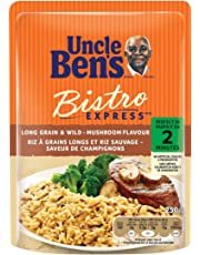 Uncle Ben's Bistro Express Long Grain and Wild-Mushroom Flavor Rice, 250 Gram