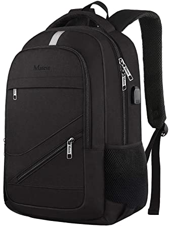 1d69bfcc864b66 Anti Theft Laptop Backpack, 15 inch RFID Laptop Rucksack with USB Charging  Port, Water