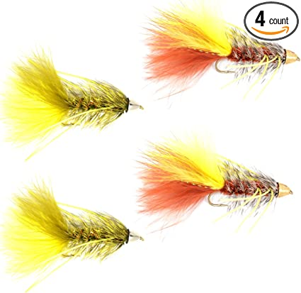Yellow Brown Olive Black Select Woolly Bugger Marabou Master Pack 4 Colors The Fly Fishing Place Fly Tying Materials