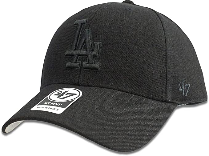 new products 13d50 89fb8 Los Angeles Dodgers Hat MLB Authentic  47 (Forty Seven) Brand MVP Adjustable  Black