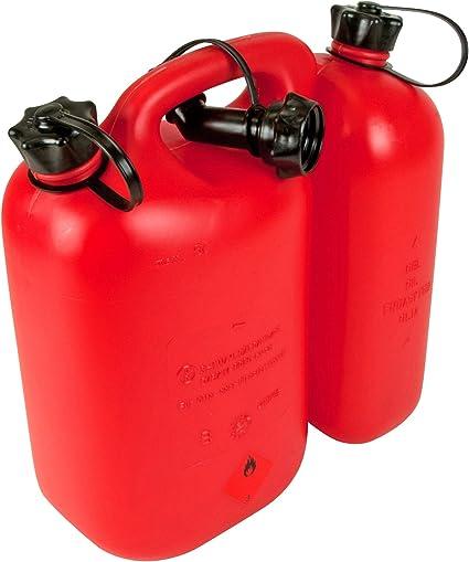 Oregon Yukon tronçonneuse carburant//huile peut avec sécurité carburant bec verseur 3 L//1.5 L Clair