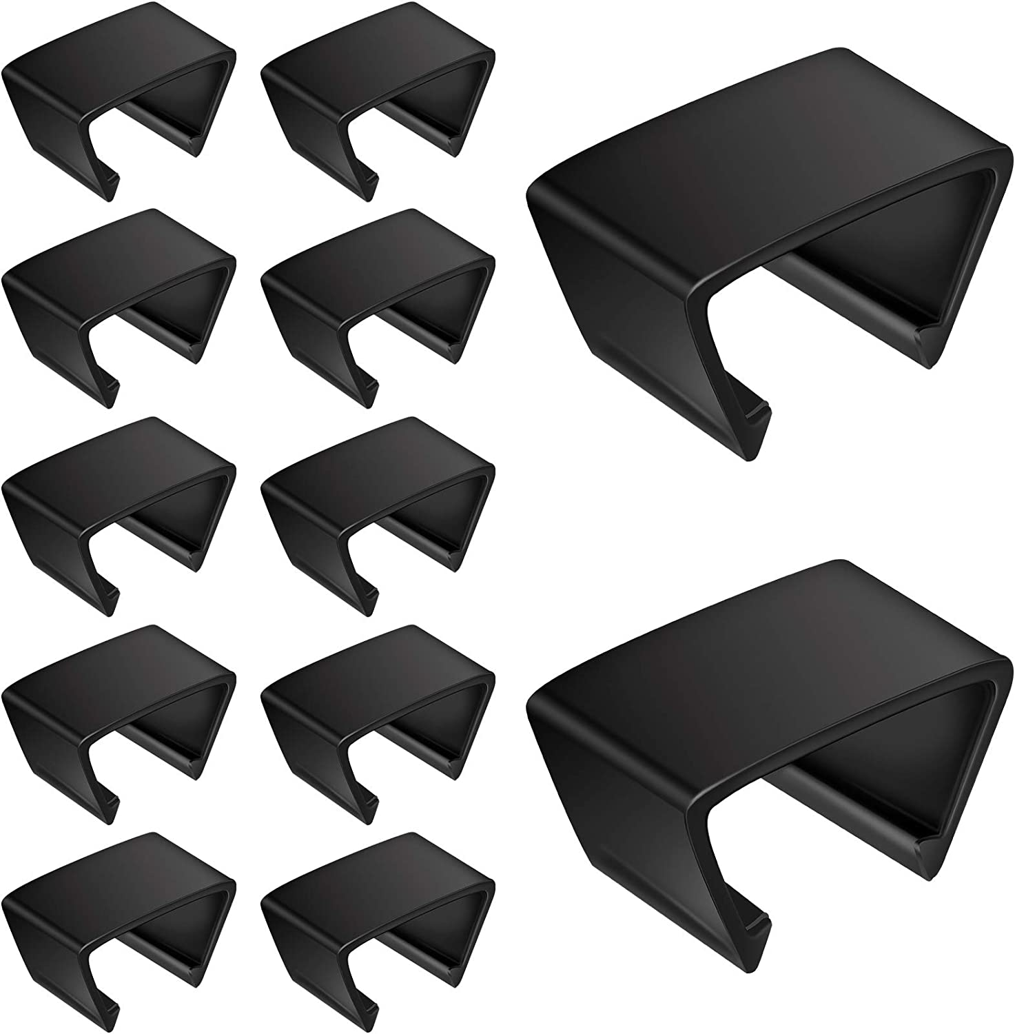 10 Pieces Outdoor Furniture Clips Patio Sofa Clips Rattan Furniture Clamps Wicker Chair Fasteners Connect The Sectional or Module Outdoor Couch Patio Furniture Supplies