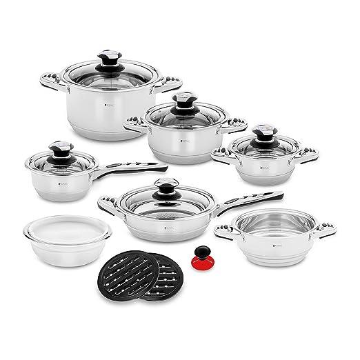 Royal Catering Batería de Cocina Set de Ollas para Inducción ...
