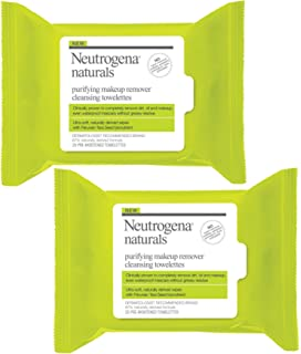 Neutrogena Naturals Purifying Makeup Remover Cleansing Wipes, 25 ct. Sun Beauty Care SPF30 - Face 1.7oz