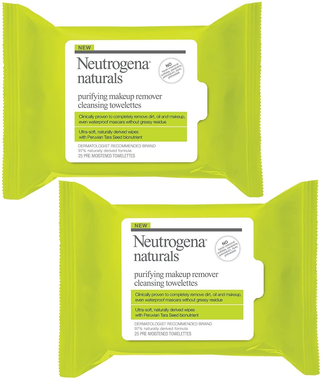 Naturals Purifying Makeup Remover Cleansing Towelettes by Neutrogena #17