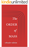 The Order of Mass - eReader Edition